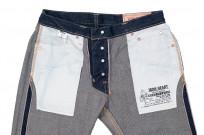 Iron Heart 777N 17oz Natural Indigo Jeans - Slim Tapered - Image 18