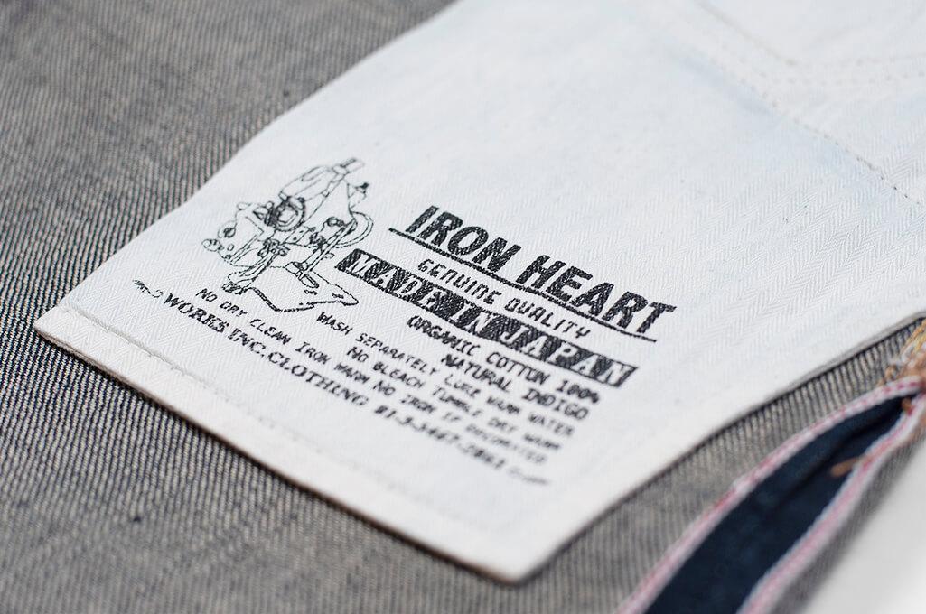 Iron Heart 777N 17oz Natural Indigo Jeans - Slim Tapered - Image 19