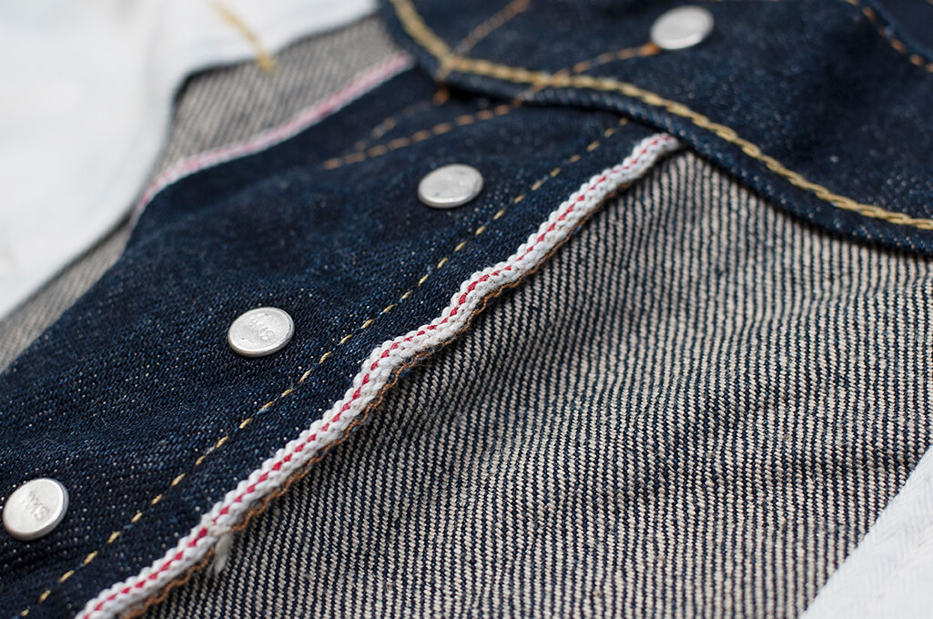 Iron Heart 777N 17oz Natural Indigo Jeans - Slim Tapered - Image 20