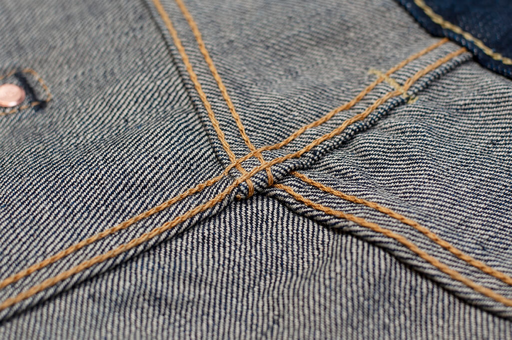 Iron Heart 777N 17oz Natural Indigo Jeans - Slim Tapered - Image 21