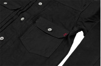 Iron Heart Type II Denim Jacket - 14oz Black/Black - Image 8