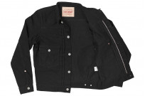 Iron Heart Type II Denim Jacket - 14oz Black/Black - Image 17