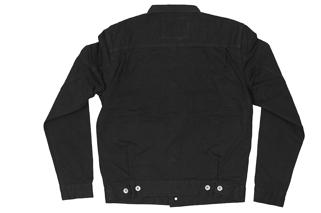 Iron Heart Type II Denim Jacket - 14oz Black/Black - Image 20