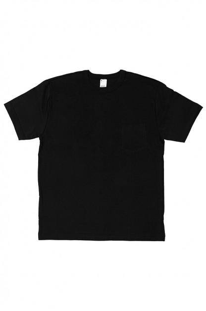 3sixteen T-Shirts w/ Pima Cotton 2-Pack - Black w/ Pocket Pima