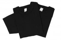 3sixteen T-Shirts w/ Pima Cotton 2-Pack - Black w/ Pocket Pima - Image 3
