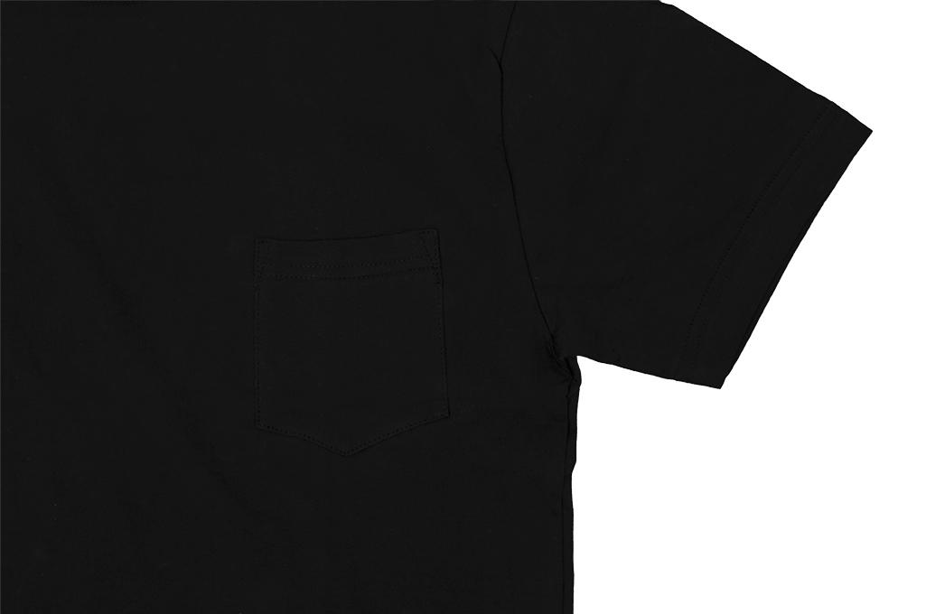 3sixteen T-Shirts w/ Pima Cotton 2-Pack - Black w/ Pocket Pima - Image 6