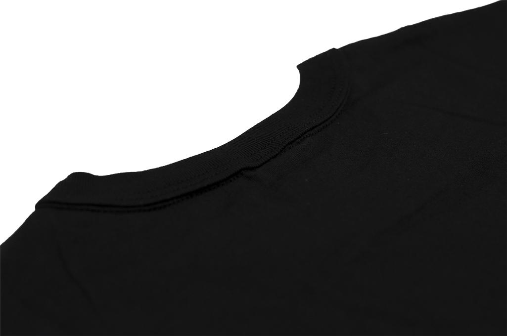 3sixteen T-Shirts w/ Pima Cotton 2-Pack - Black w/ Pocket Pima - Image 9
