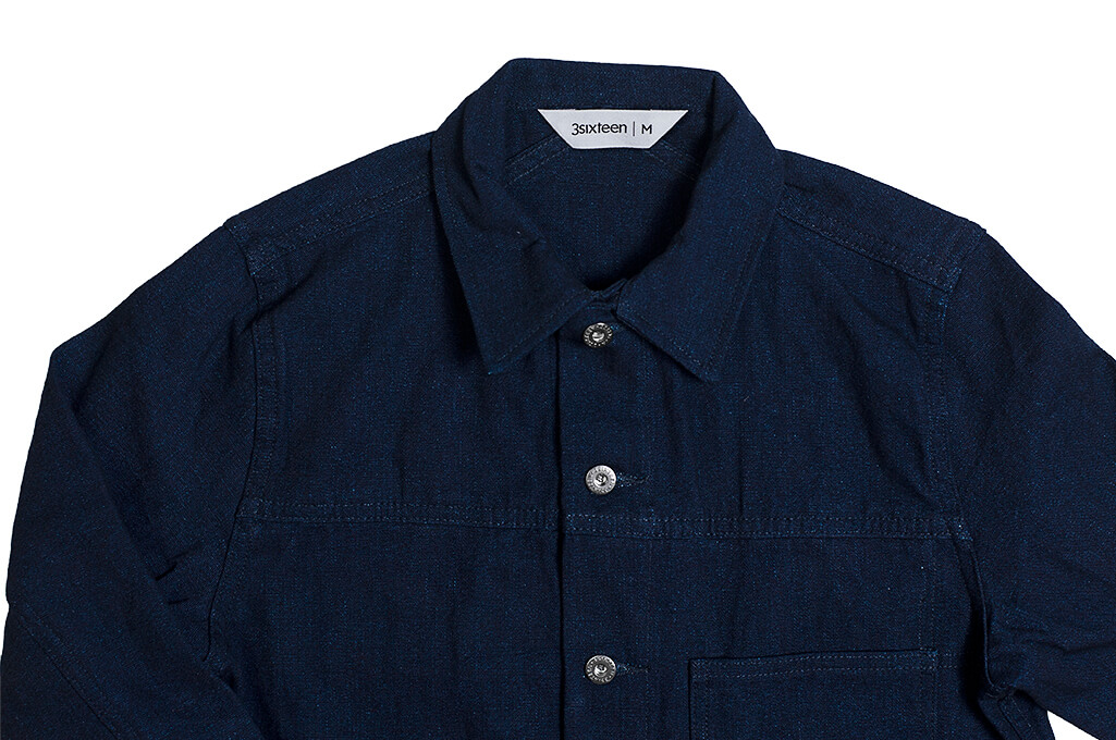 3sixteen Indigo/Indigo Type 1s Jacket - Image 7
