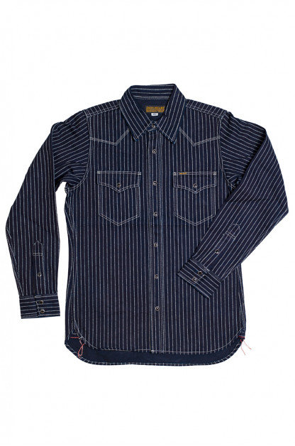 Iron Heart 12oz Wabash Snap Shirt