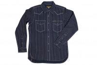 Iron Heart 12oz Wabash Snap Shirt - Image 5