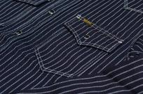 Iron Heart 12oz Wabash Snap Shirt - Image 2