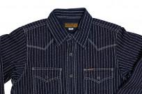 Iron Heart 12oz Wabash Snap Shirt - Image 8