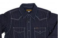 Iron Heart 12oz Wabash Snap Shirt - Image 12