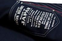 Iron Heart 12oz Wabash Snap Shirt - Image 11
