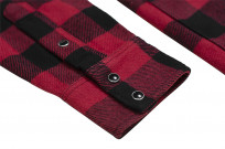 Iron Heart Ultra-Heavy Flannel - Red/Black - Image 6