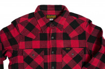 Iron Heart Ultra-Heavy Flannel - Red/Black - Image 9