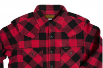 Iron Heart Ultra-Heavy Flannel - Red/Black - Image 14