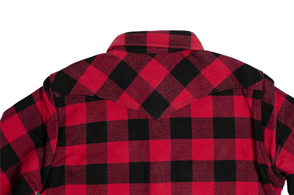 Iron Heart Ultra-Heavy Flannel - Red/Black - Image 15