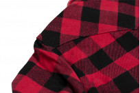 Iron Heart Ultra-Heavy Flannel - Red/Black - Image 16