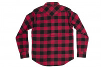 Iron Heart Ultra-Heavy Flannel - Red/Black - Image 18