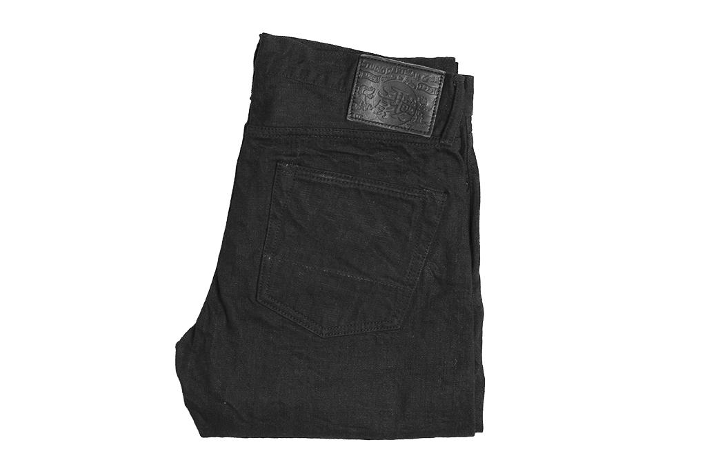 Studio D'Artisan SE-001 G3 Jeans - Straight Tapered Black - Image 5