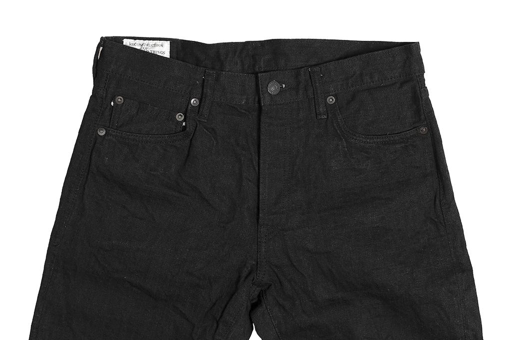 Studio D'Artisan SE-001 G3 Jeans - Straight Tapered Black - Image 6