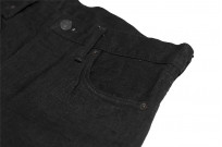 Studio D'Artisan SE-001 G3 Jeans - Straight Tapered Black - Image 8