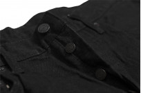 Studio D'Artisan SE-001 G3 Jeans - Straight Tapered Black - Image 9
