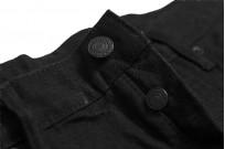 Studio D'Artisan SE-001 G3 Jeans - Straight Tapered Black - Image 10