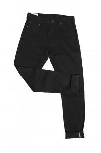 Studio D'Artisan SE-001 G3 Jeans - Straight Tapered Black - Image 11