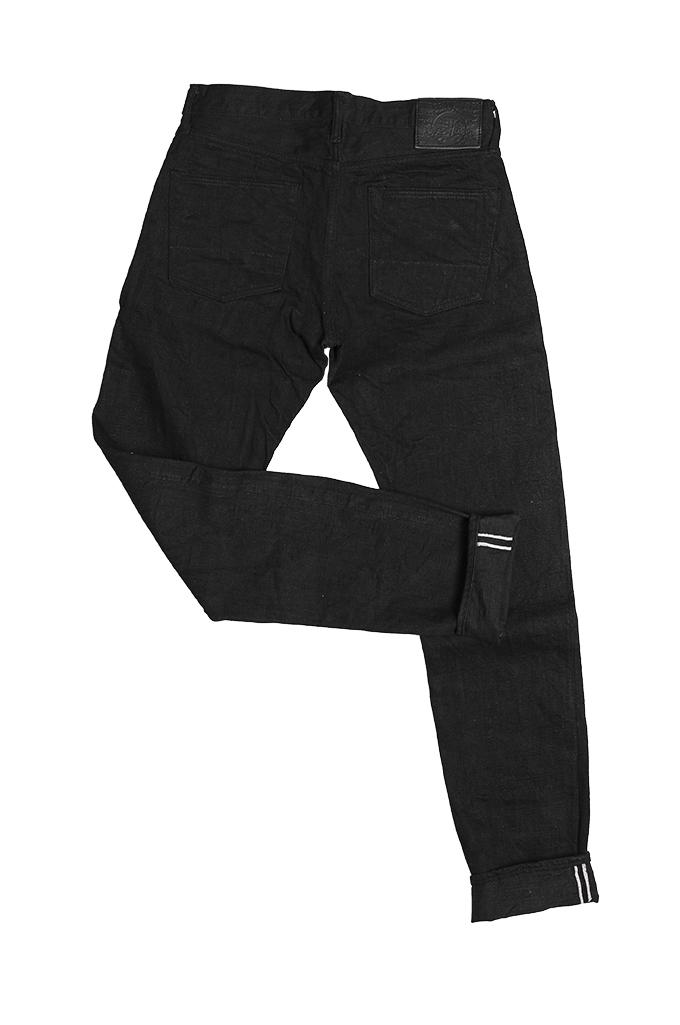 Studio D'Artisan SE-001 G3 Jeans - Straight Tapered Black - Image 12