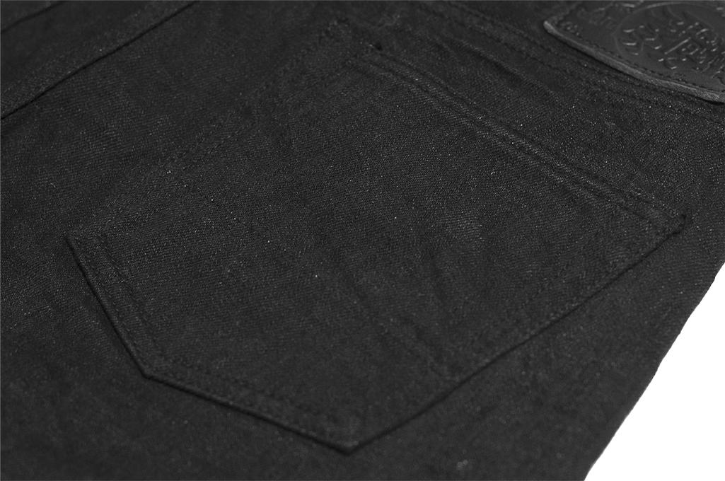 Studio D'Artisan SE-001 G3 Jeans - Straight Tapered Black - Image 14