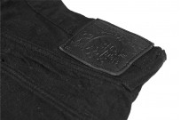 Studio D'Artisan SE-001 G3 Jeans - Straight Tapered Black - Image 15
