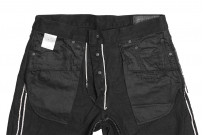 Studio D'Artisan SE-001 G3 Jeans - Straight Tapered Black - Image 18