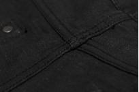 Studio D'Artisan SE-001 G3 Jeans - Straight Tapered Black - Image 20