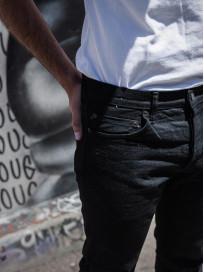 Studio D'Artisan SE-001 G3 Jeans - Straight Tapered Black - Image 24