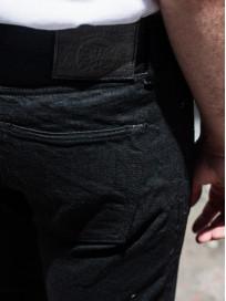 Studio D'Artisan SE-001 G3 Jeans - Straight Tapered Black - Image 26