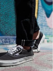 Studio D'Artisan SE-001 G3 Jeans - Straight Tapered Black - Image 27