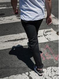 Studio D'Artisan SE-001 G3 Jeans - Straight Tapered Black - Image 29