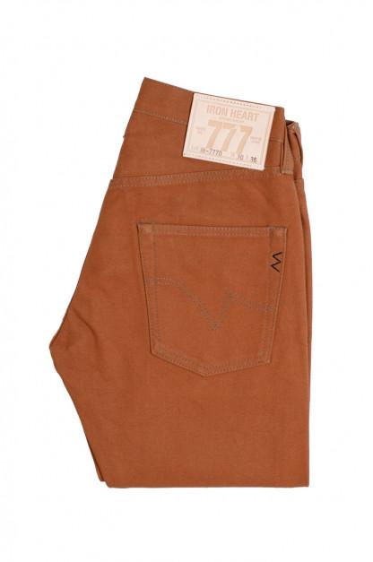 Iron Heart 777D 17oz Cotton Duck Jeans