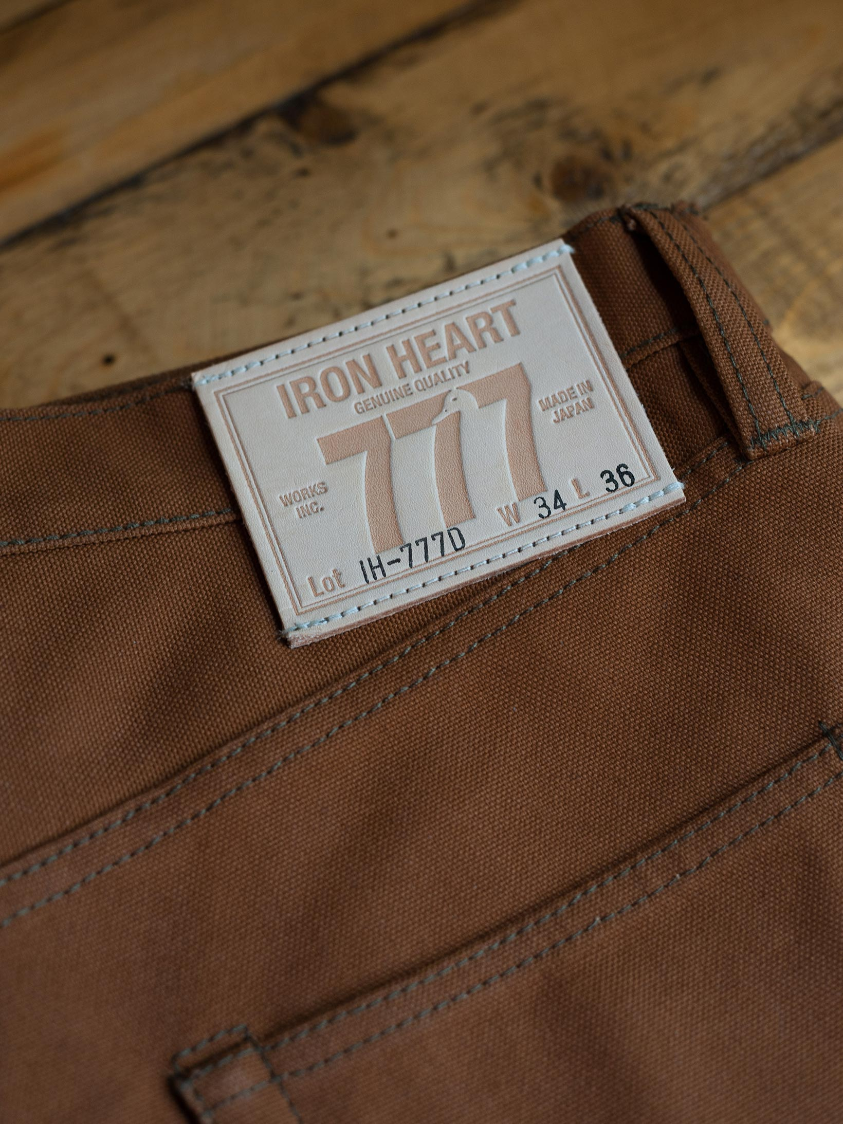 Iron Heart 777D 17oz Cotton Duck Jeans - Image 31