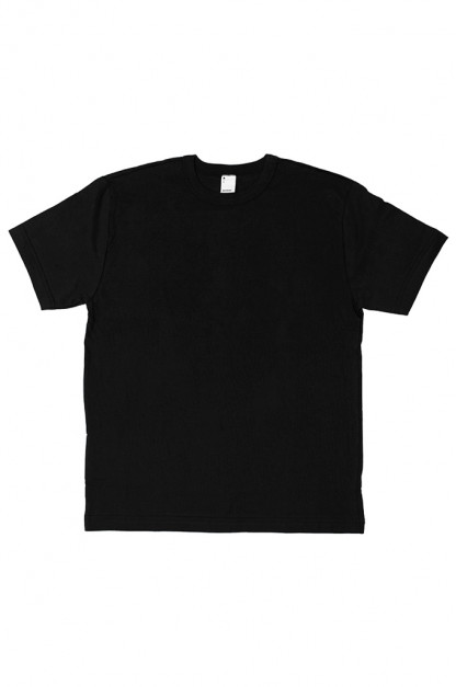 3sixteen T-Shirts w/ Pima Cotton 2-Pack - Black Plain Pima