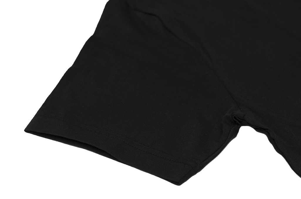 3sixteen T-Shirts w/ Pima Cotton 2-Pack - Black Plain Pima - Image 4