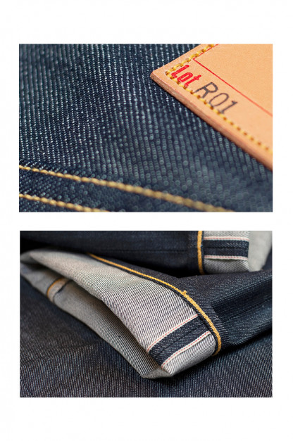 Roy R01 Jeans - Classic Straight Tapered - XUVS Denim