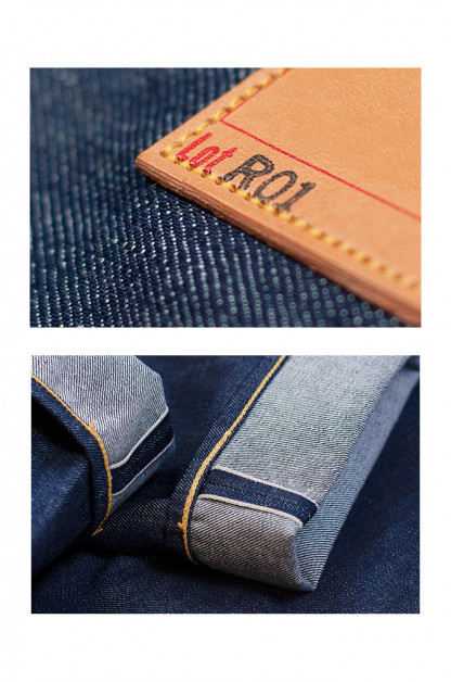 Roy R01 Jeans - Classic Straight Tapered - XX20 Denim