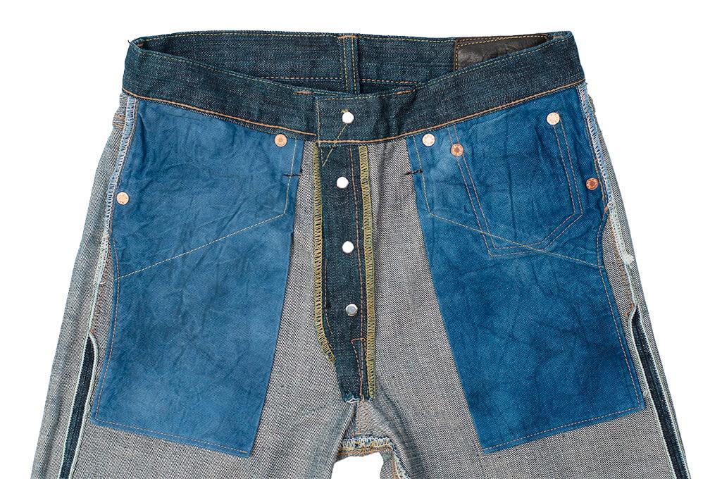 Sugar Cane Anniversary Edition Edo-Ai Limited Edition Denim - 5-Pocket Jeans - Image 15