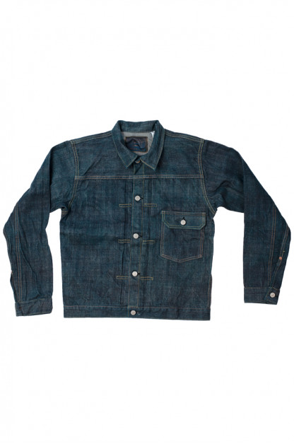 Sugar Cane Anniversary Edition Edo-Ai Limited Edition Denim - Type I Jacket