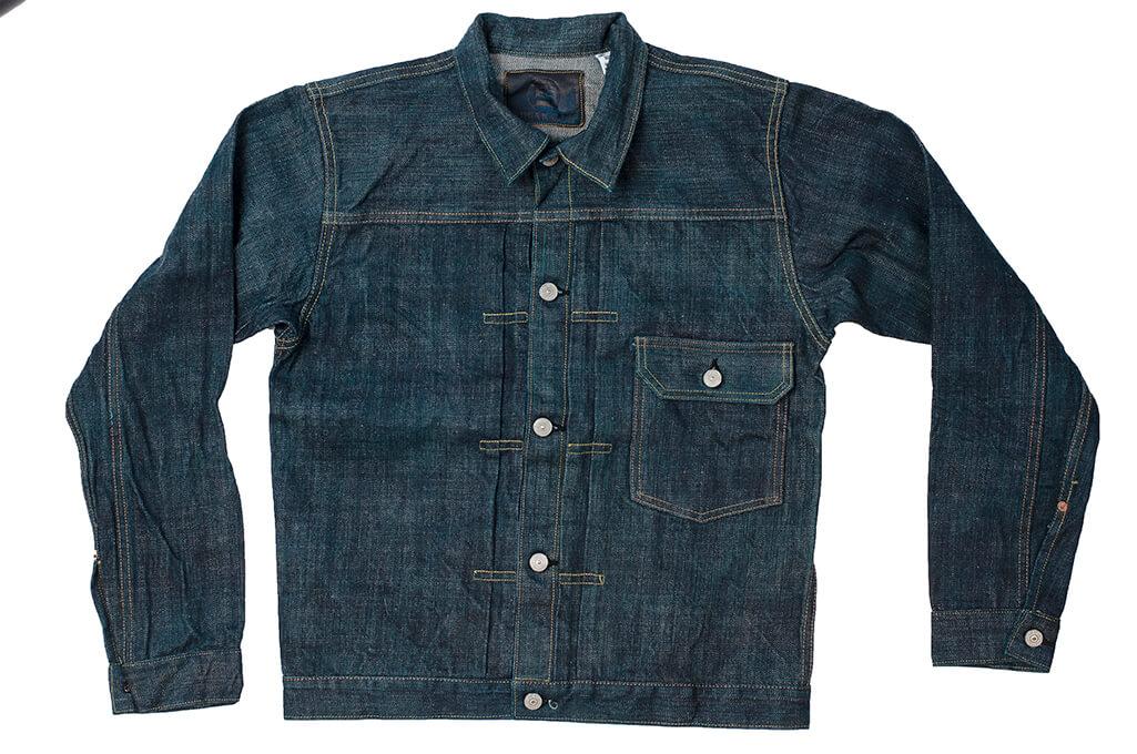 Sugar Cane Anniversary Edition Edo-Ai Limited Edition Denim - Type I Jacket - Image 6