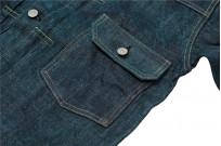 Sugar Cane Anniversary Edition Edo-Ai Limited Edition Denim - Type I Jacket - Image 7