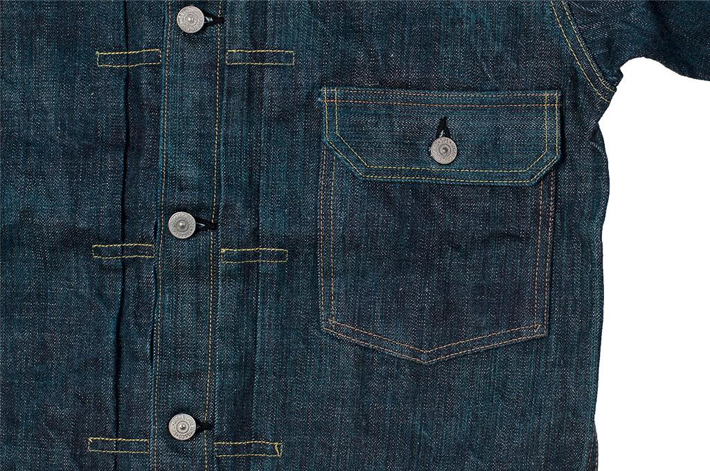 Sugar Cane Anniversary Edition Edo-Ai Limited Edition Denim - Type I Jacket - Image 9